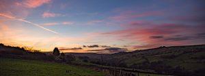 Worth Valley Sunset